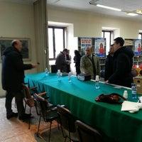 Photo taken at Biblioteca Comunale by Nicola D. on 2/10/2013