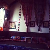 Photo taken at Sphinx Hookah Bar & Cafe by Zeynep G. on 8/10/2014
