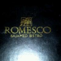 Das Foto wurde bei Romesco Mexiterranean Bistro von Virginia B. am 12/20/2012 aufgenommen