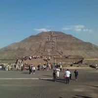 Foto tomada en San Juan Teotihuacan por Andrea M. el 1/27/2013