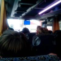 Photo taken at автобус Рига - Стокгольм - Таллинн by Dariya M. on 5/11/2013