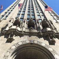 Photo taken at Tribune Tower by Chelsea O. on 5/5/2017