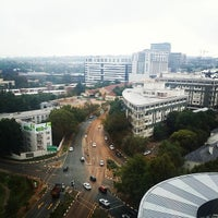Photo taken at Radisson Blu Gautrain Hotel by Kevin A. on 12/9/2014