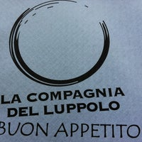 Photo taken at La Compagnia Del Luppolo by Marzia F. on 6/22/2013