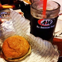 Photo taken at A&W All American Food by Sam O. on 8/18/2013