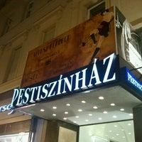 Photo taken at Pesti Színház by Munki on 2/13/2013