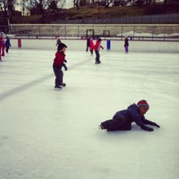 Photo taken at Lasker Pool & Ice Rink by Andrea A. on 3/1/2013