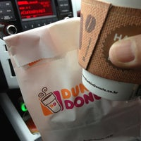 Photo taken at DUNKIN' DONUT by Charles O. on 2/18/2013
