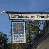 Das Foto wurde bei Wirtshaus am Bavariapark von Ricarda Christina H. am 9/12/2016 aufgenommen