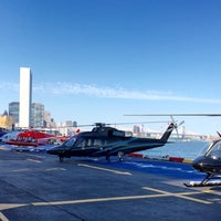 Photo taken at East 34th Street Heliport (TSS) by Gerard M. on 6/24/2016