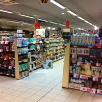 Photo taken at AD Delhaize by Carole D. on 12/14/2012