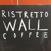 Photo taken at Ristretto Coffee Wall and Roastery by Leigh G. on 9/14/2012