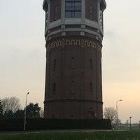 Photo taken at Watertoren Assendelft by Michel F. on 4/1/2014