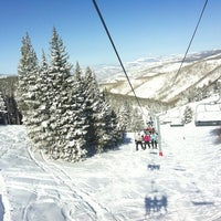 Photo taken at Vail Mountain by Jenn B. on 3/22/2013