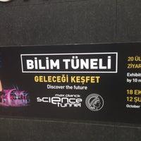 Photo taken at Bilim Tüneli by M.Gokhan A. on 2/1/2015