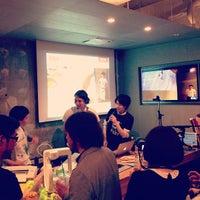 Photo taken at FabCafe Tokyo by Yuka I. on 5/10/2013