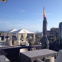 Photo taken at Bellagio Restaurant Sierra Cortina by Mads N. on 7/8/2014