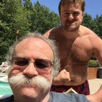 Photo taken at Edgewood Pool by Ron E. on 8/15/2015