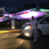 Photo taken at Gasolinera Del Avion by Guillermo R. on 4/26/2014
