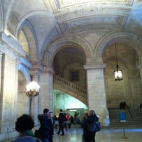 Photo taken at New York Public Library - Science, Industry and Business Library (SIBL) by Coma T. on 2/22/2013