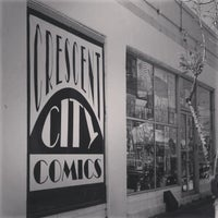 Photo taken at Crescent City Comics by Melissa G. on 5/4/2013