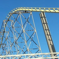 Photo taken at The Desperado Roller Coaster by Keith Ex G. on 4/13/2013