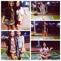 Photo taken at Bonifacio High Playground by Mitchie V. on 10/19/2013