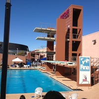 Photo taken at Hillenbrand Aquatic Center by Justine B. on 2/16/2013
