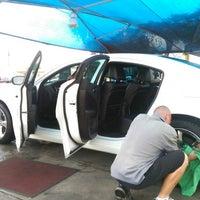 Photo taken at Simoniz Car Wash by Daniel H. on 8/30/2014