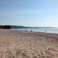 Photo taken at Agawa Bay Campground (Lake Superior Provincial Park) by Mark K. on 8/31/2013