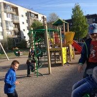Photo taken at Детская площадка by Натали on 5/16/2013