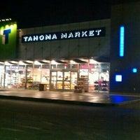 Photo taken at Tahoma Market by Jef on 1/5/2013