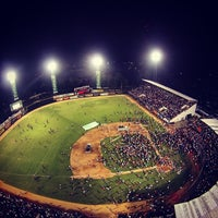 Photo taken at Estadio Julian Javier by Yetro on 1/26/2015