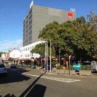 Photo taken at Strathfield Plaza by Henry Setiawan on 7/4/2013