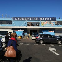 Photo taken at Sydney Fish Market by Henry Setiawan on 7/6/2013