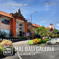 Photo taken at Mal Bali Galeria by H | E | N | R | Y on 12/23/2012