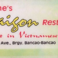Photo taken at Rene's Saigon by Nanette A. on 7/23/2013