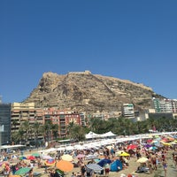 Photo taken at Alacant | Alicante by Андрей Б. on 8/15/2013