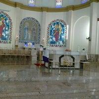 Photo taken at Igreja Matriz de Lucélia by Eliana Z. on 2/20/2013