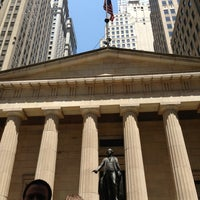 Photo taken at Federal Hall National Memorial by Monica G. on 6/21/2013