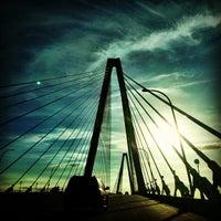 Photo taken at Arthur Ravenel Jr. Bridge by Eric M. on 7/17/2013