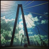 Photo taken at Arthur Ravenel Jr. Bridge by Eric M. on 4/18/2013