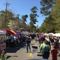 Photo taken at Flowertown Festival by Eric M. on 4/6/2013
