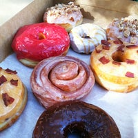 Photo taken at Glazed Gourmet Doughnuts by Eric M. on 11/10/2012