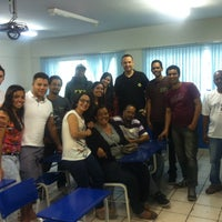 Photo taken at Colégio e Faculdade JK by Ana . on 3/29/2014