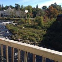 Photo taken at Littleton Riverwalk Bridge by James C. on 9/21/2013