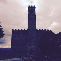 Photo taken at Castello di Poppi by Karen S. on 6/3/2016