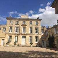 Photo taken at Château Figeac by Edwin D. on 8/18/2014