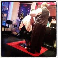 Photo taken at Salon de coiffure Franco by Hooman T. on 12/11/2012