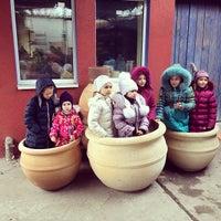 Снимок сделан в Мастерская Керамики Сергея Горбаня пользователем Pasha T. 1/12/2014